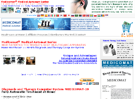 Health Diagnosis and Therapy Computer System Medicomat-29 discount coupon