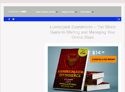 Lumberjack Ecommerce - The Sharp Guide to Starting Your Online Store discount coupon
