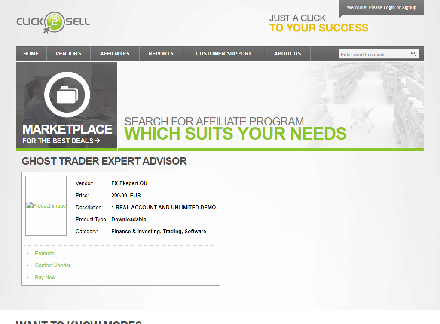 Ghost Trader Expert Advisor discount coupon