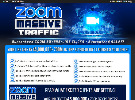2020 ZOOM.COM MASSIVE TRAFFIC - GET 5,000+ CLICKS - SALES ARE GUARANTEED! discount coupon